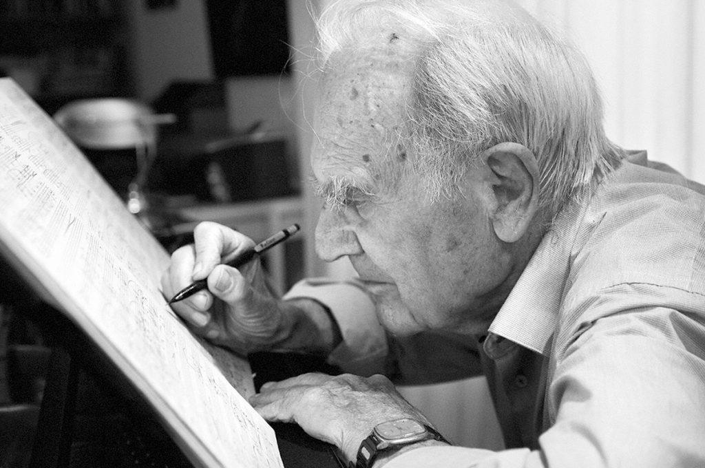 Ludwig Otten, componist Foto © Claudia Otten
