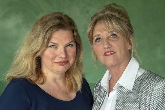 Marjolijn Bruurs en Barbara Mounier foto © Claudia Otten