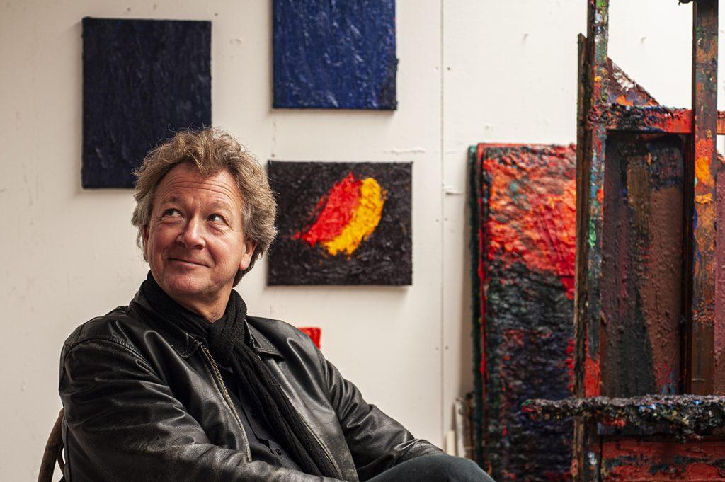 Kunstenaar Jan de Beus